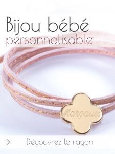 Bijoux b�b� personnalis�s