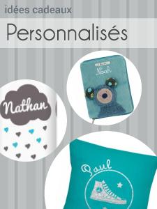Cadeaux b�b� personnalis�s