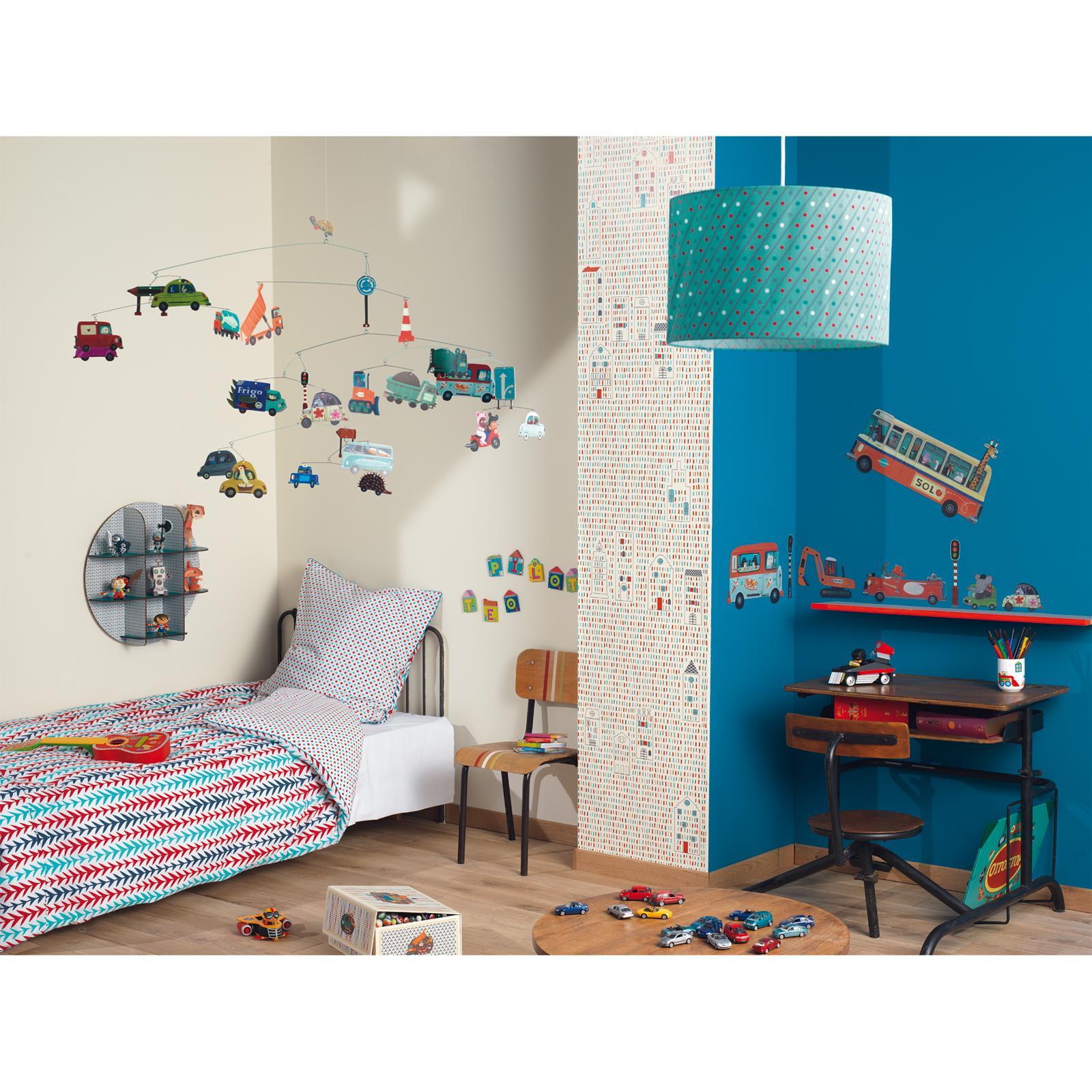 Abat-jour tissu Pois : Little big room by Djeco