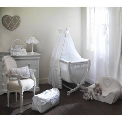 emma blanc d co et linge pour enfant de la marque nougatine. Black Bedroom Furniture Sets. Home Design Ideas
