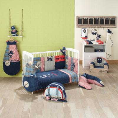 hippipos des dglingos linge bb et dco hippipos par babycalin. Black Bedroom Furniture Sets. Home Design Ideas