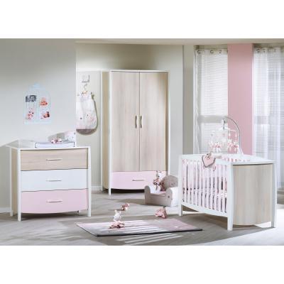 Lilibelle est une collection de la marque sauthon baby déco qui propose de nombreux articles textiles doux et colorés pour chambre de bébé