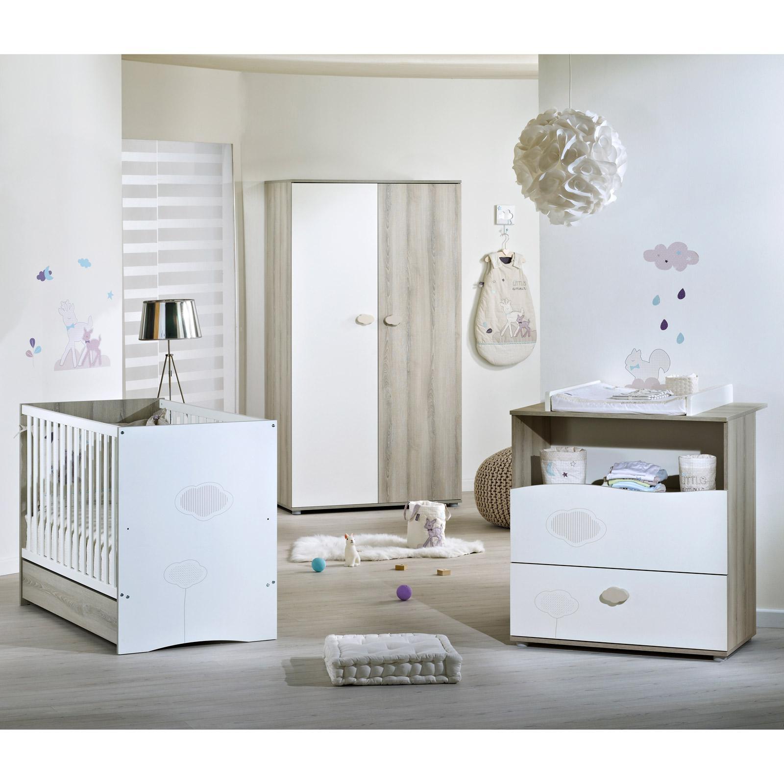 Lit bébé évolutif Na l Little Big Bed avec son tiroir 70 x