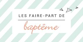 Faire-part bapt�me