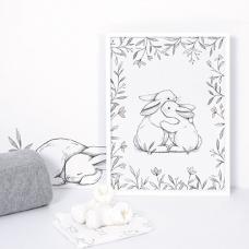 chambre bebe lapin