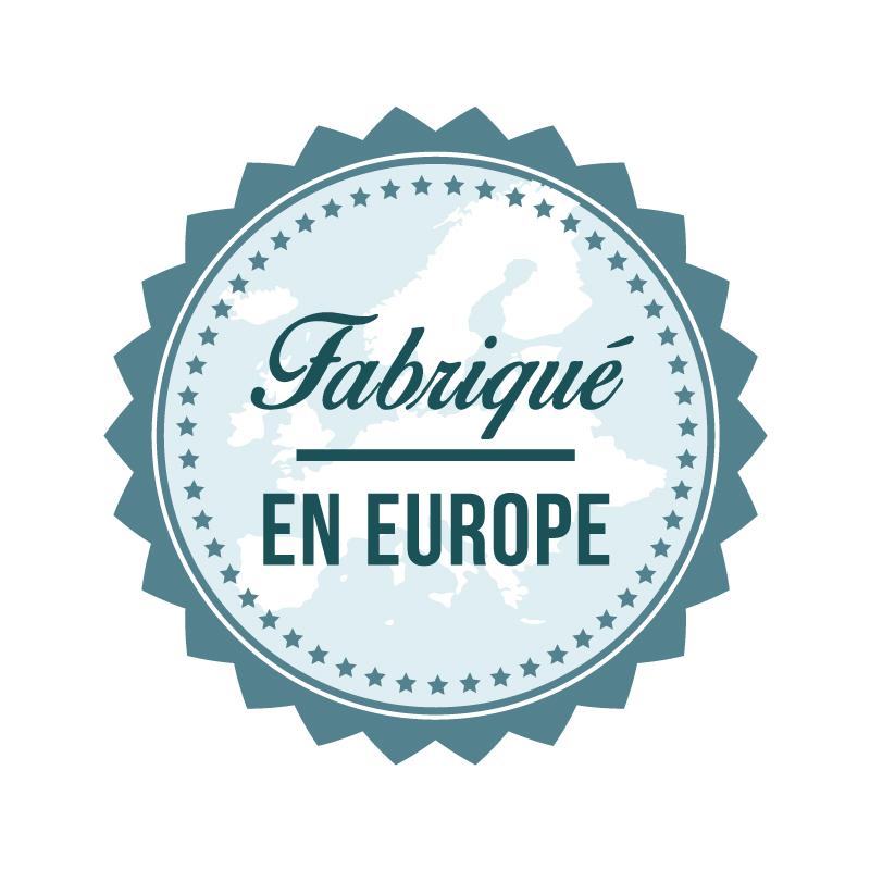 label fabriqué en Europe